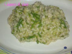 Risotto con le sparasine (asparago selvatico)