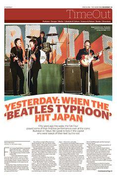 JT On Sunday TimeOut section. Beatles Typhoon. June 26, 2016