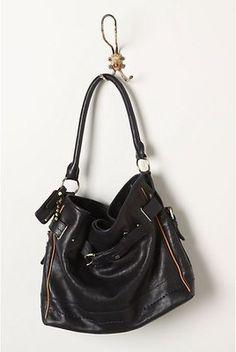 Sons & Schuler Buckle Gathered Shoulder Bag Handbag