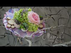 Флористика Как сделать каркас для букета # 2 (Мастер класс) - YouTube