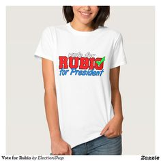 Vote for Rubio Shirt
