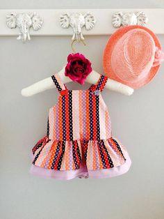 Baby girl romper purple and peach polkadots Baby Girl Romper, Baby Girls, Girls Rompers, Voici, Polka Dots, Purple, Fashion, Diaper Change, Lingerie