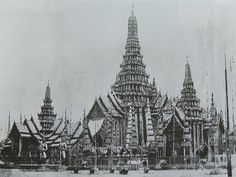 Another view of King Mongkut's Phra Meru [cremation temple], 1868