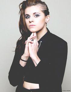Lyndsey Gunnulfsen (Lynn Gunn) - PVRIS - Rock Sound Magazine by Adam Elmakias