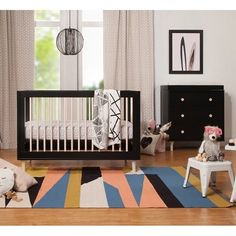 Home - Kids' Room and Nursery Unique Cribs, Nursery Furniture Sets, Nursery Ideas, Bed With Slide, Convertible Crib, Convertible Furniture, Portable Crib, Mini Crib, Crib Sets