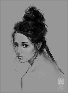 Girl, Kan Liu(666K信譞) on ArtStation at http://www.artstation.com/artwork/girl-4238580d-8b03-494f-9ca8-80228ddc0785
