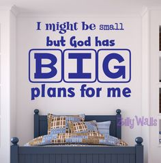 Large Wall Word Decals And Picture Collages Large Scripture Art - Wall decals for church nursery