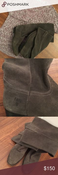 Frye Boots😍 These are absolutely stunning😍The deep grey goes with every outfit and a MUST HAVE😍😍 Frye Shoes