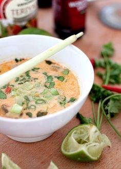 In den letzten 3 Wochen haben wir euch einige Eindrücke von Kathi's Urlaub in Thailand gezeigt, und passend zum Thema gibt's heute ein super leckeres Rezept für euch. Asiatisches Essen ist nicht immer