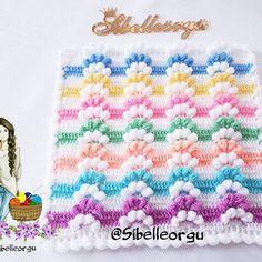 Kate's Crochet World Crochet Bebe, Crochet Hats, Crochet World, Crochet Stitches, Diy And Crafts, Crochet Necklace, Cross Stitch, Embroidery, Blanket