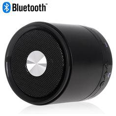 Black Bluetooth LED Indicator Speaker for Smartphones #bluetooth #indicator #speakers #music #box $17.58 Best Speakers, Bluetooth, Smartphone, Led, Music, Black, Musica, Musik, Black People