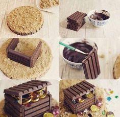 New cake ideas kitkat 64 ideas Cupcakes, Cupcake Cakes, Pirate Birthday Cake, Birthday Cakes, Pirate Ship Cakes, Cupcake Photography, Birthday Parties, 4th Birthday, Cake Decorating