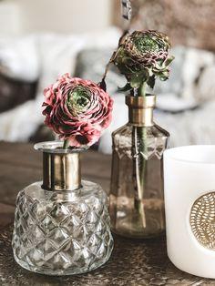 flower meets boho home