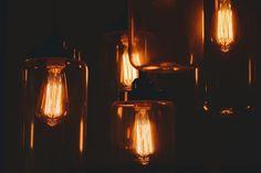 Lamp Bulb Light - Free photo on Mavl Antique Light Bulbs, Grieving Friend, Light Images, Lighting System, Lighting Ideas, Lamp Bulb, Light Orange, Amber Glass, Mason Jar Lamp