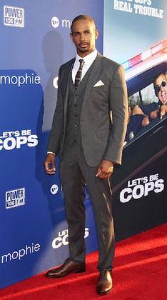 """Damon Wayans Jr at the """" Lets Be Cops """" premiere."""