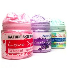 Detox Whipped Sugar Scrub by Nature Skin Shop on Opensky