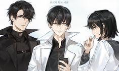 Character Art, Character Design, Arte Ninja, Anime Siblings, Anime Friendship, Boy Illustration, Familia Anime, Gothic Anime, Best Novels
