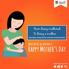 iReff wishes all mothers a Happy Mothers day. #MothersDay #BestWishes #iReff
