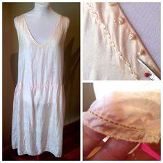 Vintage 1920s Dusty Pink Silk Slip | 1920s | 40 Bust by VioletsEmporium on Etsy 1920s Dress, Silk Slip, Silk Thread, Pink Silk, Dusty Pink, 1920s Style, Pretty, Fabric, How To Wear