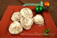 Vánoční cukroví a pečení | Vaříme s Marcelou.cz Feta, Muffin, Cheese, Cookies, Breakfast, Desserts, Crack Crackers, Morning Coffee, Tailgate Desserts