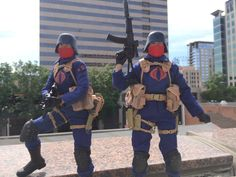 Cobra Officers in downtown San Jose, CA, by Chad Lawless