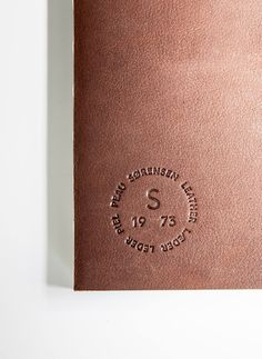 New branding strategy and identity for Sorensen Leather by Norm Architects.