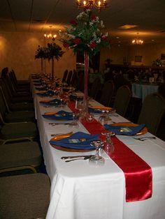 Cruise Themed Wedding  Captain's Table/Head Table