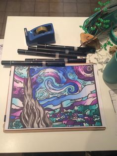 Gisele Nunez's entry to our Starry Night contest Van Gogh Art, Van Gogh Paintings, Gisele, Vincent Van Gogh, Night, Artist, Artwork, Work Of Art, Auguste Rodin Artwork