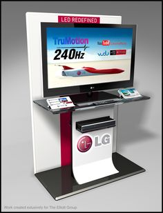 LG TV Interactive Display on Behance