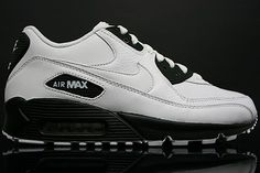 Men Nike Air Max 90 shoes white black HOT SALE! HOT PRICE!