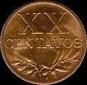 20 Centavos - Catálogo de Notas e Moedas