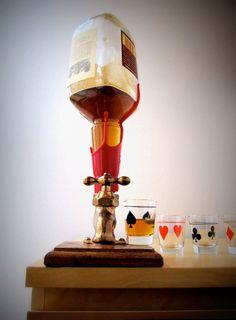 dispensador de licores vintage de elenco