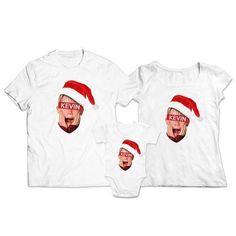 Chcekoszulki.pl - Zestaw świąteczny koszulka dla mamy taty i body dla dziecka Kevin | Kategorie \ Świąteczne Body, Fashion, Moda, Fashion Styles, Fashion Illustrations