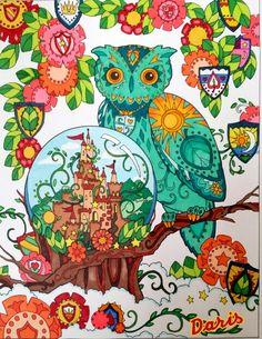 Owl #1 colored by Daris