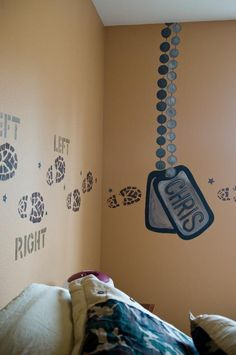 Army themed bedroom on pinterest army camo and army men for Camouflage bedroom ideas for kids