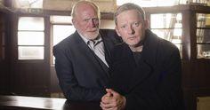 shetland tv | Arthur McLaughlin (JAMES COSMO), DI Jimmy Perez (DOUGLAS HENSHALL)