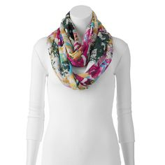 Manhattan Accessories Co. Watercolor Ombre Infinity Scarf, Women's,