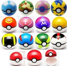 Look what I found Via Alibaba.com App: - (Pokemon Go) 13 Colours Pokemon Go Poke Ball Pokeball Mini Model Anime Pikachu Super Master Ball Action Figures Toys