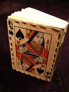 Playing Card Journal   Sustained Confusion