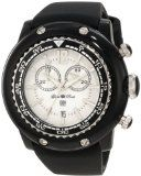Glam Rock Women's GD1116 Miami Beach Chronograph White Dial Black Silicone Watch Reviews - Glam Rock Women's GD1116 Miami Beach Chronograph White Dial Black Silicone Watch    Swiss quartz movementMineral crystal sapphire coated; black resin case and