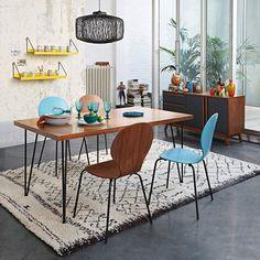 Image Table de repas, esprit vintage, 2 modèles, Watford La Redoute Interieurs