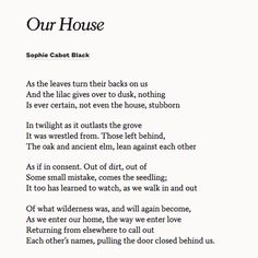 Poems For Weddings Anniversaries Share Our House By Sophie Cabot Black With Your Partner On Anniversary