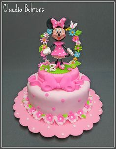 227 Best Cakes Minnie Mouse Images In 2019 Mickey Mouse Cake