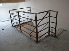 Garde-corps et rampe d'escalier Acier   Manière de fer