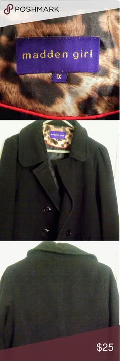 Black plus size Peacoat Cozy beautiful peacoat 1X Madden Girl Jackets & Coats Pea Coats