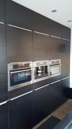 Black kitchen ikea Black Kitchens, Stove, Ikea, Kitchen Appliances, Cooking Stove, Diy Kitchen Appliances, Home Appliances, Ikea Ikea, Hearth