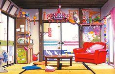 artbooksNAT | Mawaru Penguindrum(輪るピングドラム) finished background...