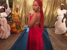 Nuestra hermosa Goyo del grupo musical @chocquibtown  #OrgulloNegro #BlackPower @GoyoCQT Muy pronto podrán ver el nuevo video de la canción #SeFueLaLuz!
