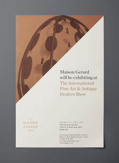 Maison Gerard will be exhibiting at The International Fine Art & Antique Dealers Show