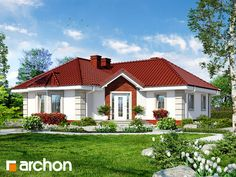 Dom w serdeczniku My Dream Home, Exterior Design, Home Fashion, House Design, Cabin, How To Plan, Mansions, House Styles, Home Decor